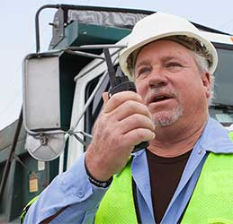 Two-way Radio Solutions for Construction
