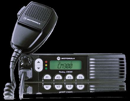 Motorola CM300 Mobile Two Way Radio MOBILE-ONE